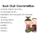 Book Club Conversation Stems