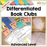 Book Club Differentiated Book Clubs for Third Grade Fourth