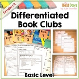 Book Club:  Differentiated Book Clubs For First Grade, Second Grade, Third Grade