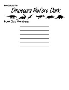 Book Club: Dinosaurs Before Dark