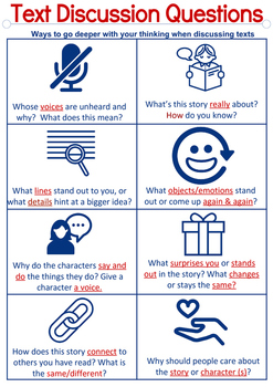 Book Club Discussion Guide: Student Anchor Chart