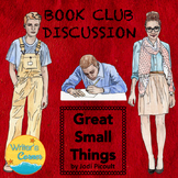 """Book Club Discussion """"Great Small Things"""" by Jodi Picoult, Racism, Civil Rights"""