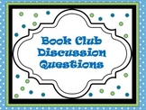 Book Club Discussion Questions