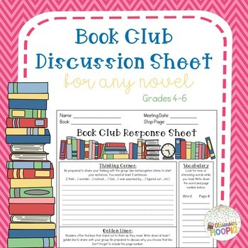 Book Club Discussion Sheet