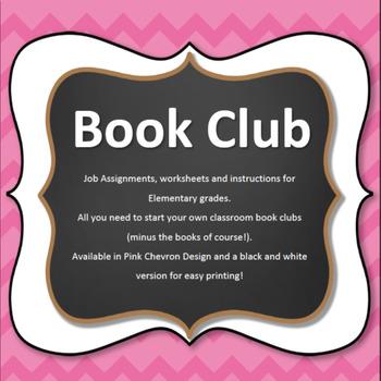 Book Club Elementary Starter Set- Pink Chevron