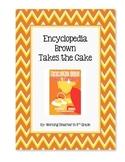 Book Club Encyclopedia Brown Takes the Cake