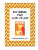 Book Club Encyclopedia Brown Takes the Cake