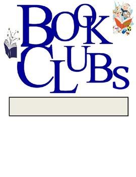 Book Club Folder Cover