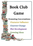 Book Club Game Fostering Deep Conversation and Character Analysis