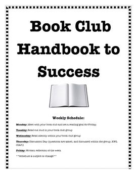 Book Club Handbook For Students
