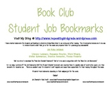 Book Club Job Bookmarks