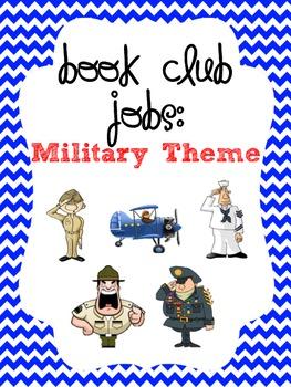 Literature Circles - Military Themed!