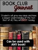 Book Club Reading Response Journal