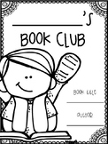 Book Club Journal for 2nd Grade