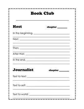 Book Club Lit Circle