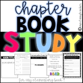 Book Club/ Lit Circle Study for Any Chapter Book