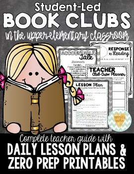 Book Club/Literature Circle Guide for the Upper Elementary Classroom