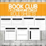 Book Club/Literature Circle Roles/Jobs