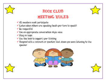 Book Club Meeting
