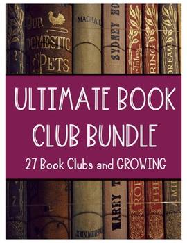 Book Club Mega Bundle (27 Book Clubs and Growing)