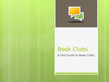 Book Club Mini-Lessons