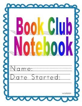 Book Club Notebook - Easier