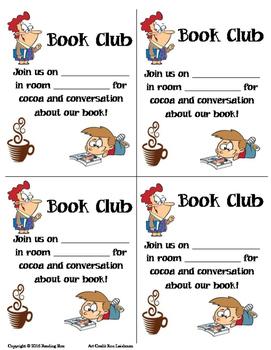 Book Club Notice