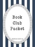 Book Club Novel Study Literature Circle Accountability Packet