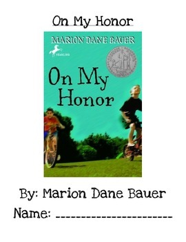 Book Club-On My Honor (Marion Dane Bauer)