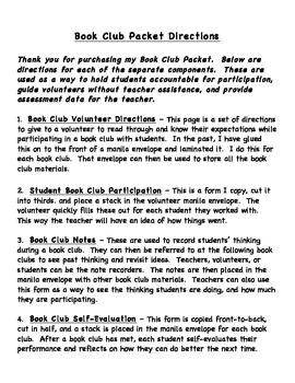 Book Club Packet