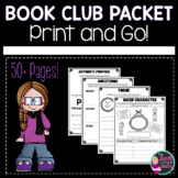 Book Club Worksheets