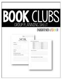 Book Club Planning Sheet