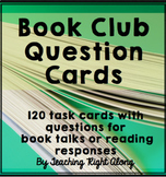 Book Club Task Cards - Now with Digital Option Included