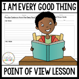 First Person Point of View Mentor Text Lesson for Google Slides