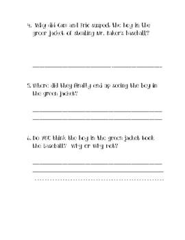 Book Club Questions for Cam Jansen/Babe Ruth Baseball
