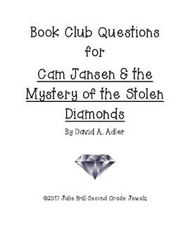 Book Club Questions for Cam Jansen/Stolen Diamonds