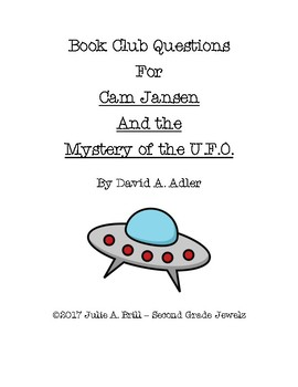 Book Club Questions for Cam Jansen/U.F.O.