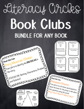 Book Club Resources (Bundle for High and Low Students)