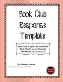 Book Club Response Template