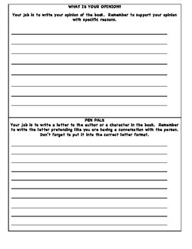 Book Club Roles (Half Pages)