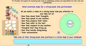 Book Club Routines and Expectations
