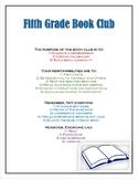 Book Club Rules-Editable