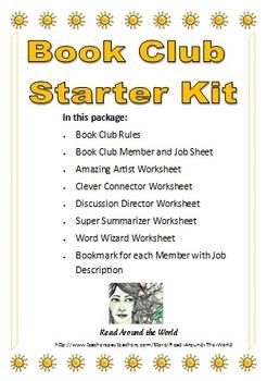 Book Club Starter Kit - Sun Border
