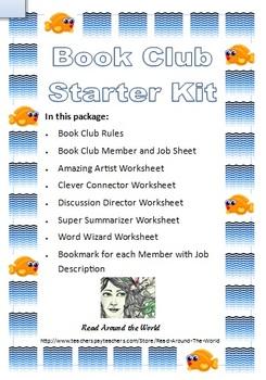 Book Club Starter Kit - Fish Border