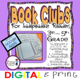 Book Clubs for Independent Readers  >DIGITAL and PRINTABLE