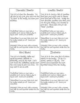 Book Club Stuff (Literature Circles) Common Core Aligned
