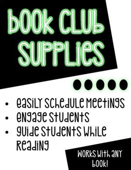 Book Club Supplies