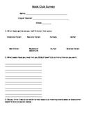 Book Club Survey