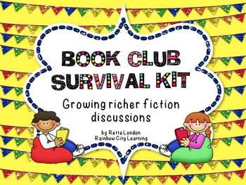 Book Club Survival Kit: Growing Richer Fiction Discussions