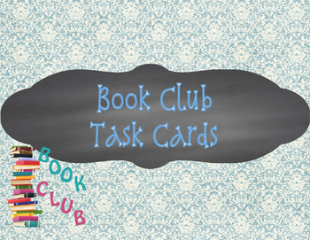 Book Club - Task Cards